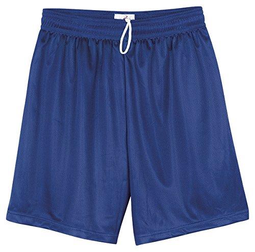 Badger Youth Elastic Waist Jersey Short, Royal, Large