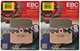 EBC Double-H Sintered Metal Brake Pads FA335HH (2 Packs - Enough for 2 Rotors)