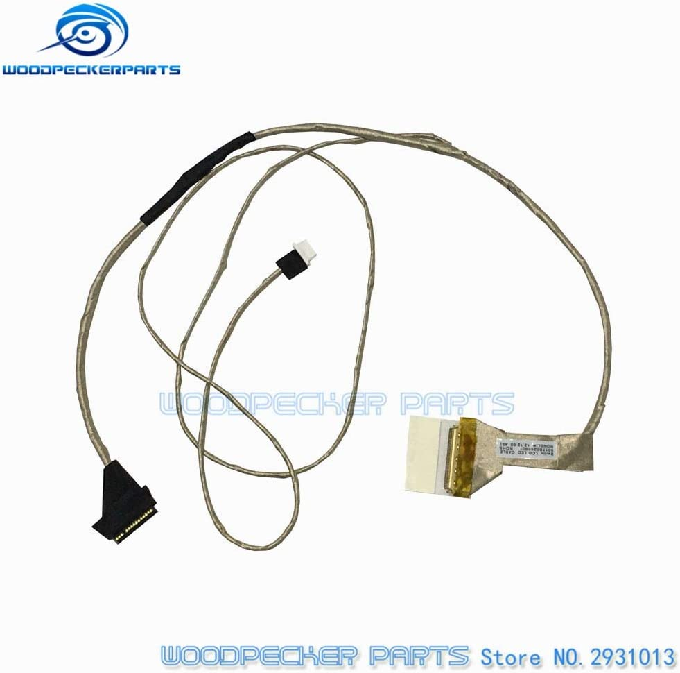 Cable Length: 6017B0265501 ShineBear New LED LCD Screen Video Berlin LVDS Cable for Toshiba for Satellite C650 C655 C655D Flex Ribbon Connector P//N 6017B0265501