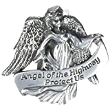 CA Gift KVC119 Auto Visor Clip, Angel of The Highway, 2-3/8""