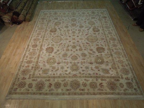 Chobi Carpet - Traditional Chobi Rug New Handmade 9' x 12' Vegetable Dyed Oriental Carpet