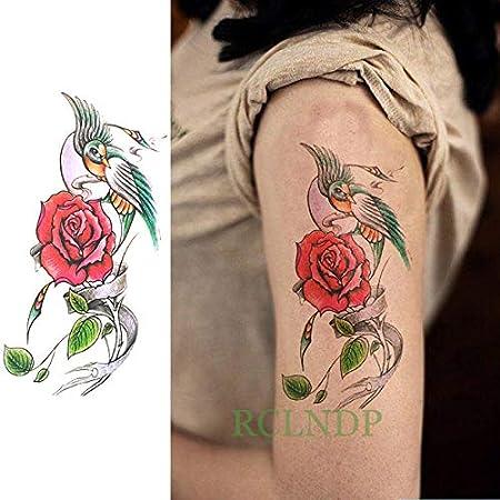 3 Piezas Tatuaje Impermeable Etiqueta Flor del Peony de Tatto del ...