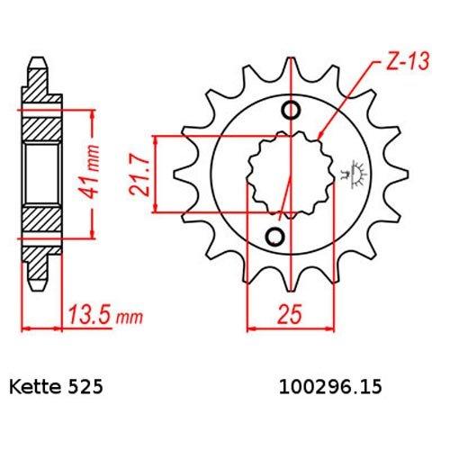 Kettensatz Honda XL 700 V Transalp 08-13 Kette RK 525 GXW 118 offen 15//47