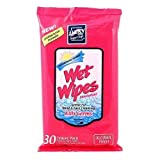 WET WIPES ANTIBACTERIAL 30CT TRAVEL PACK ALCOHOL/PARABEN FREE, Case by DollarItemDirect