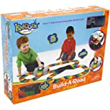 Kidoozie Build-A-Road X-Track - Mentally Stimulating and Employs Tactile Engagement - Fully Customizable - For Ages 3 and Up
