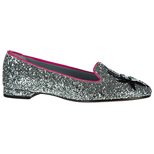 Bailarines Bailarinas Glitter Mujer Ferragni Plata Chiara PxO5g