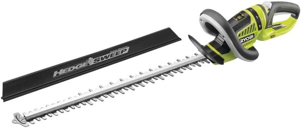 Ryobi 5133002161 Cortasetos de 18V, espada de 55 cm, 18 W, 18 V, Negro, Amarillo