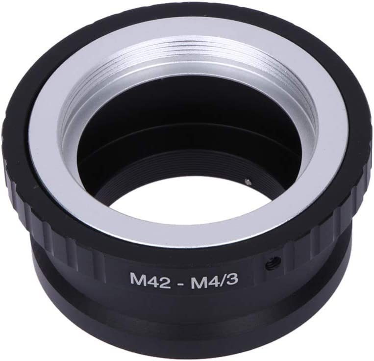 M42-M4//3 Lens Adapter Ring for Takumar M42 Lens Micro 4//3 M4//3 Mount for Olympus Panasonic M42-M4//3 Adapter Ring ILS