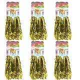 low priced 87167 d5050 Creatiee 1 Dozen Premium Cheerleading Pom Poms, 12Pcs Hand Flowers  Cheerleader Pompoms for Sports Cheers