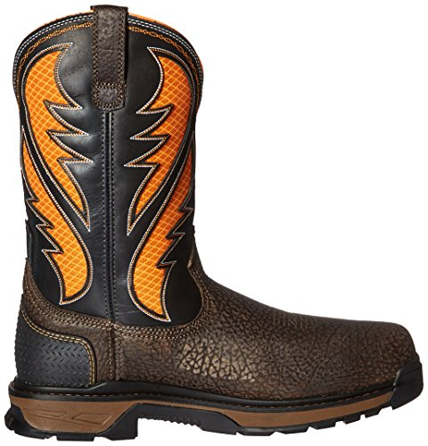 Cocoa Boot Brown Work Work Intrepid Ariat Toe Work Orange Men's Venttek Composite xn8zw0SafF