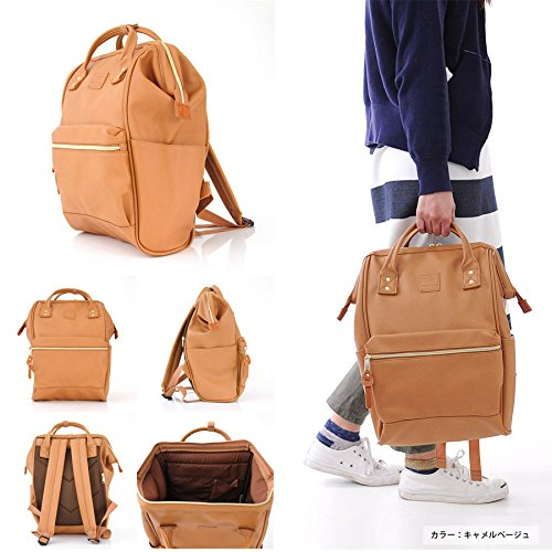 Amazon.com | Japan Anello Backpack Unisex CAMEL BEIGE MINI SMALL ...