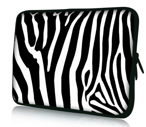 Compaq Laptop Covers - Zebra Print Universal 17