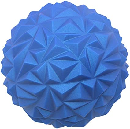 Yoga Ball Hemisphere PVC Toy Foot Stepping Stone Outdoor Games Spiky Massage
