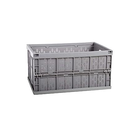 AXWT Cesta de almacenamiento de ropa plegable portátil Cesta de almacenamiento de coche Caja de cambio