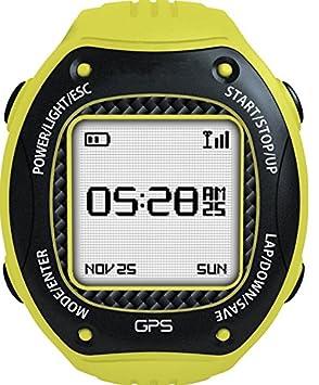 TRYWIN W3 Reloj Deportivo para correr con navegación GPS, Antena de 2,4 GHz + Comunicación, y Brújula Digital (E-Compass): Amazon.es: Deportes y aire libre