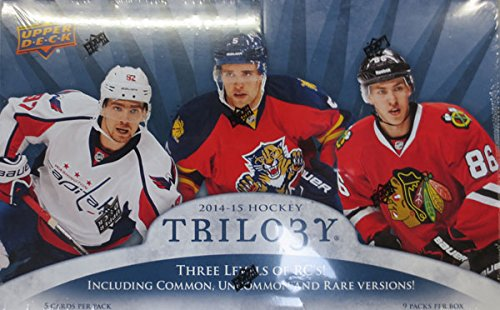 2014-15 Upper Deck Trilogy Hockey Hobby Box (Box 2014 Upper Deck)