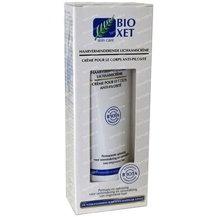 Bioxet crema reductora del vello corporal (140 ml.) Reduce y debilita el vello