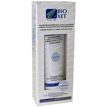 Bioxet crema reductora del vello corporal (140 ml.) Reduce y debilita el vello: Amazon.es: Salud y cuidado personal