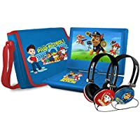 Ematic Paw Patrol 9 Portable DVD Player with Talk-To-Speech (TTS) Functionality (NK9388PW)
