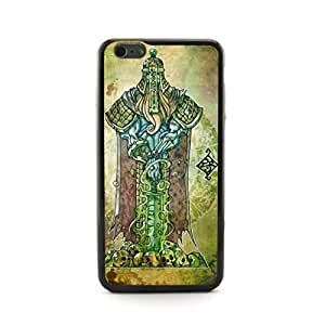 CaseCityLiu - Guard Chinese Zombie Myth 3D Design Hard Case Cover for Apple iPhone 5 5s 5th 5g 5Generation Come With FREE Non Woven Packing Bag