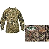 Walls Boys Hunting Long Sleeve Pocket T-Shirt, Mossy Oak Breakup Country, M Regular