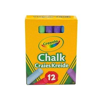 Imán expertos f4mchalk-5 Crayola – Tizas Antipolvo, multicolor (Pack de 5): Amazon.es: Industria, empresas y ciencia