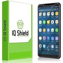 Samsung Galaxy A8+ Screen Protector, IQ Shield LiQuidSkin Full Coverage Screen Protector for Samsung Galaxy A8+ (2018) HD Clear Anti-Bubble Film