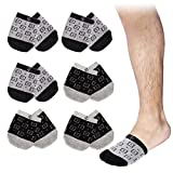 808 Ave Half Toe Socks Breathable Comfortable No Show Low Cut Ankle Crew