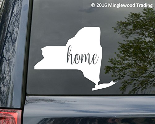 Minglewood Trading New York State vinyl decal sticker 6