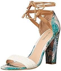 Call It Spring Women's Aralle Dress Sandal, Off/White, 8.5 B US