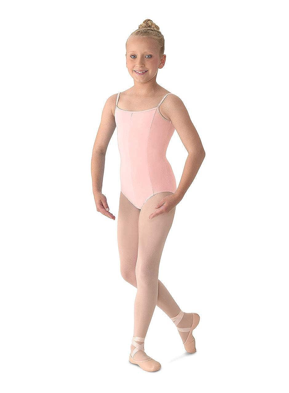 Mirella Girls Princess Seam V-Front Camisole Dance Leotard