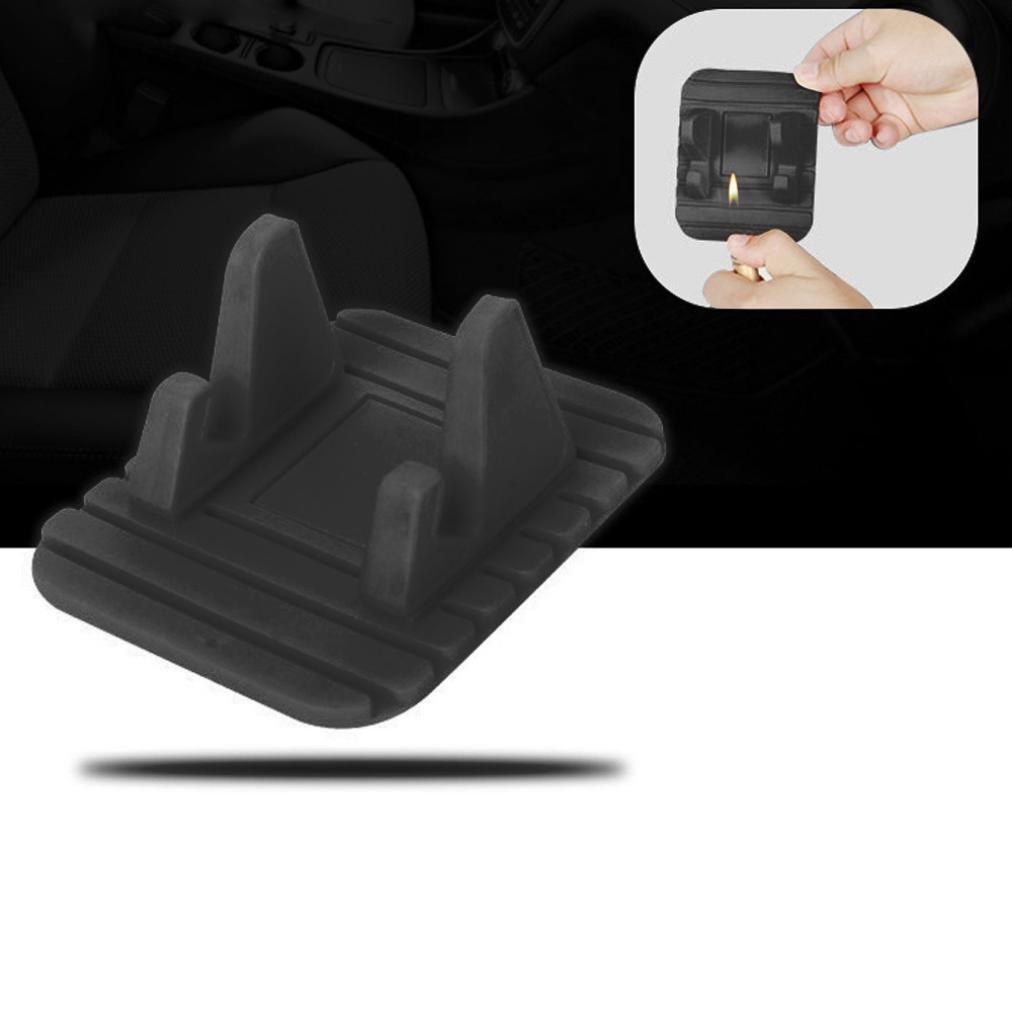 Car Silicone Dash Pad Mat, Universal Dashboard & Desktop Holder for Phones,Tablets, Mp3&Mp4 Player,GPS Navigator (Black) by Kintaz (Image #7)