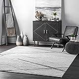 nuLOOM Thigpen Contemporary Area Rug, 5' x 8', Grey