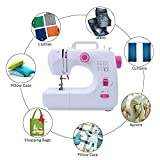 Portable Electric Sewing Machine, 16 Built-in