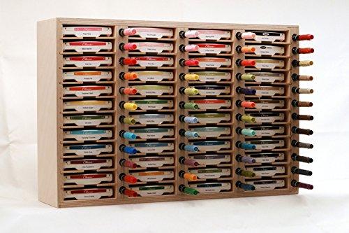 48 Ink Pad & Marker Holder, Wall Mount by Stamp-n-Storage