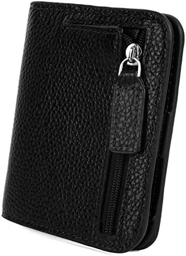 YALUXE Genuine Leather Blocking Compact