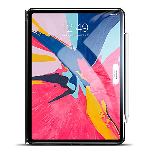 "esr Yippee Trifold Smart Case V2.0 for iPad Pro 11"" 2018, Auto Sleep/Wake [Support 2nd Gen Apple Pencil Wireless Charging], Lightweight Stand Case, Hard Back Cover for iPad Pro 11"" 2018, Black"