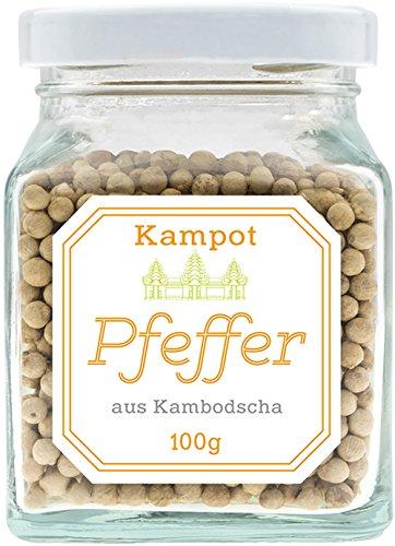 31 opinioni per Pepe da Kampot (bianco), 100 grammi di qualità superiore