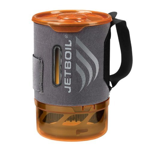 Jetboil .8 L FluxRing Sol Aluminum Companion Cup w/ Indicating Cozy by Jetboil (Sol Cup)