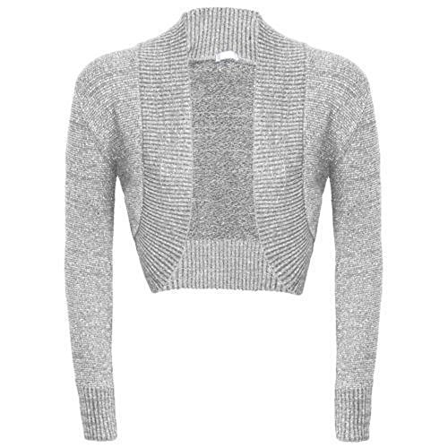 The Home of Fashion - Cárdigan - para mujer gris claro