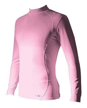 Precision Rollkragen-Shirt langärmlig Basisschicht 3XL rose