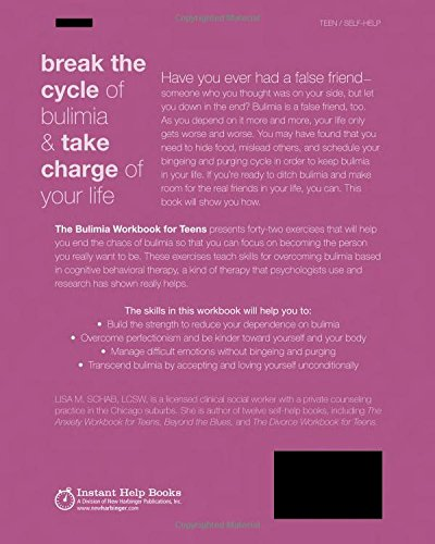 Workbook body image therapy worksheets : The Bulimia Workbook for Teens: Activities to Help You Stop ...