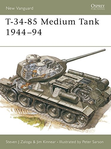 T-34-85 Medium Tank 1944–94 (New Vanguard) for sale  Delivered anywhere in USA