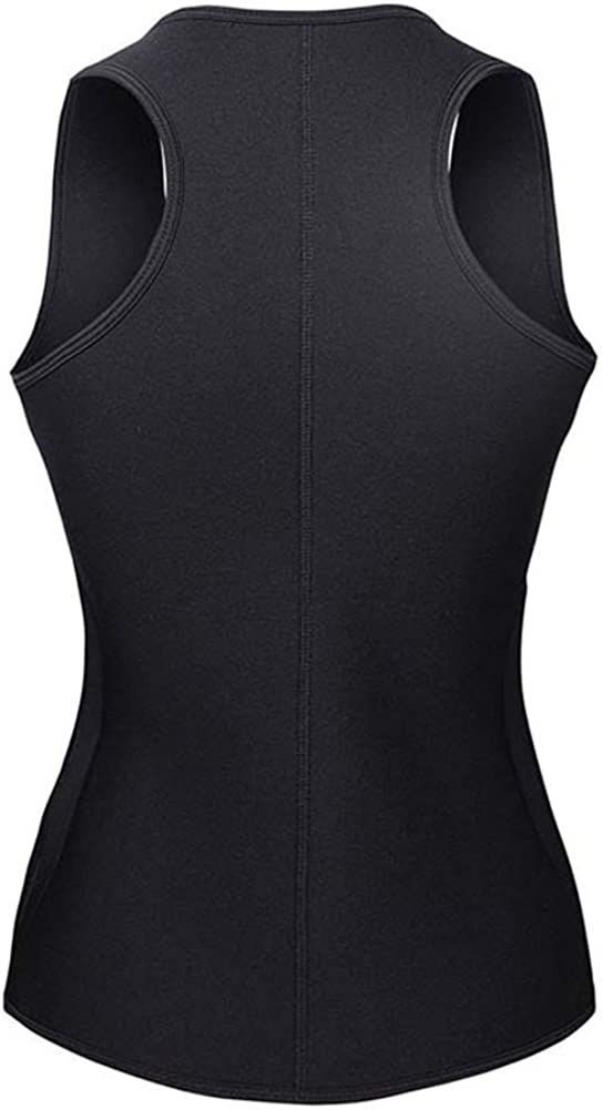 GODGETS Waist Trainer Neoprene Sweat Sauna Vest with Adjustable Waist Trimmer Belt for Weight Loss Slimming Body Shaper