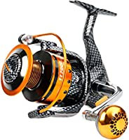 Burning Shark Fishing Reels- 12+1 BB, Light and Smooth Spinning Reels, Powerful Carbon Fiber Drag, Saltwater a