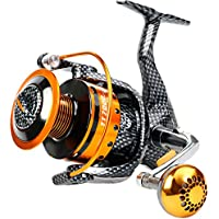 BURNING SHARK Fishing Reels- 12+1 BB, Light Smooth...