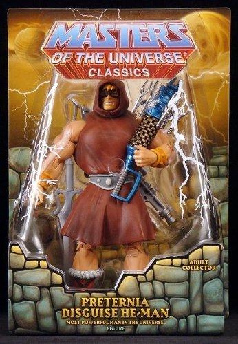 Man Masters Motu He - HeMan Masters of the Universe Classics Exclusive Action Figure Preternia Disguise HeMan