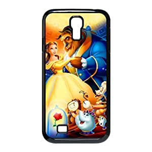 customized Beauty and the Beast for SamSung Galaxy S4 I9500 case S4-brandy-140060