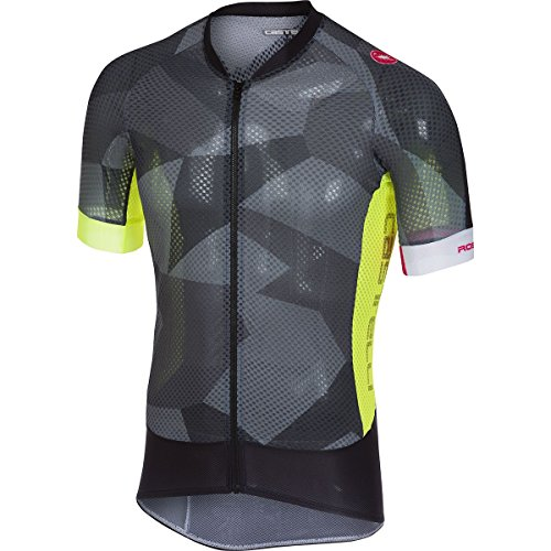 Castelli Climber's 2.0 Full-Zip Jersey - Men's Anthracite, ()