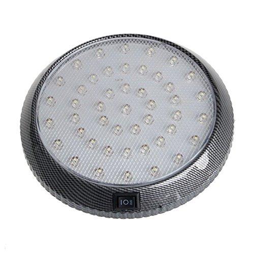 FidgetFidget Light White Car Vehicle Interior Indoor Roof Ceiling Dome Lamp 1X 12V 46-LED